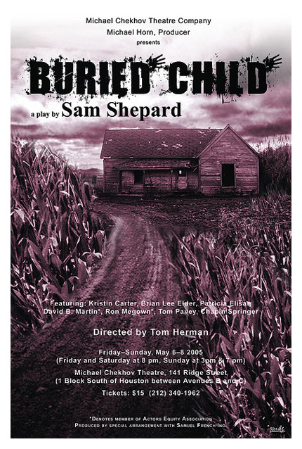 a critical analysis of buried child by sam shepard How does sam shepard use postmodernism in buried child a significant aspect of postmodernism is to offer a critique of the traditional meta- narrative structures.
